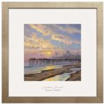 Capitola Sunset – 17.5″ x 17.5″ Prominence