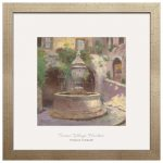 Tuscan Village Fountain – 17.5″ x 17.5″ Prominence