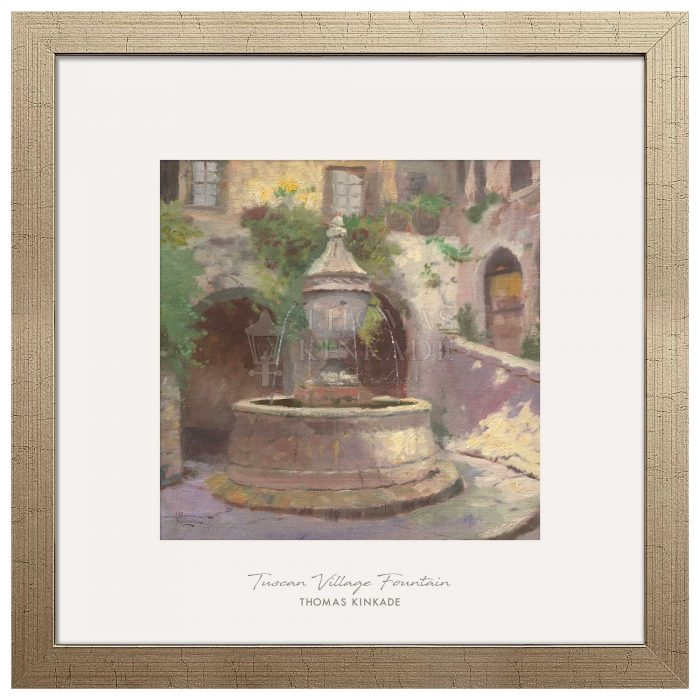 Tuscan Village Fountain – 32″ x 32″ Prominence