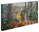 Follow the Yellow Brick Road – 16″ x 31″ Gallery Wrapped Canvas