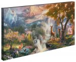 Bambi's First Year – 16″ x 31″ Gallery Wrapped Canvas
