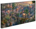 Lady and the Tramp – 16″ x 31″ Gallery Wrapped Canvas