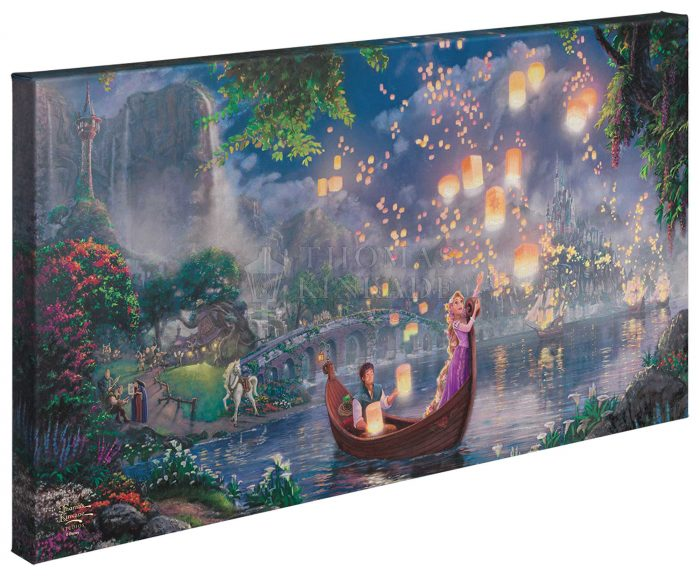 Tangled – 16″ x 31″ Gallery Wrapped Canvas