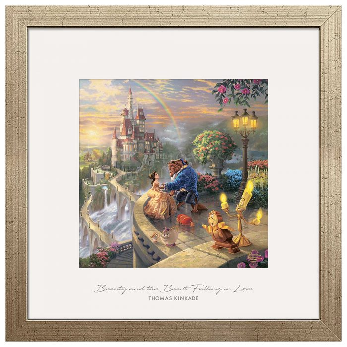 Beauty and the Beast Falling in Love – 17.5″ x 17.5″ Prominence