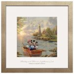 Mickey and Minnie Lighthouse Cove – 32″ x 32″ Prominence
