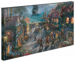 Pirates of the Caribbean – 16″ x 31″ Gallery Wrapped Canvas