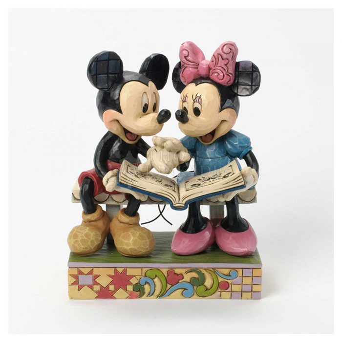 Mickey and Minnie Love Story – Sculpture