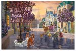 "Disney The Aristocats – 12"" x 18"" Wood Sign"