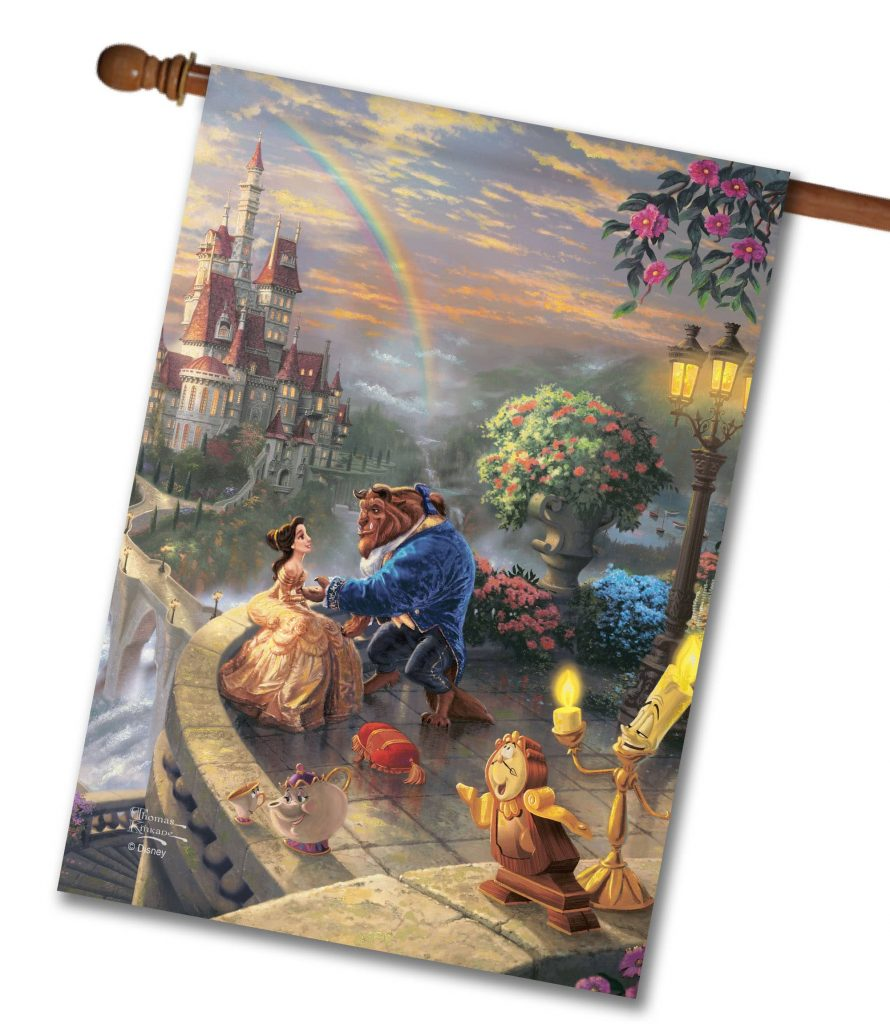 Disney Beauty and the Beast flags from Flagology