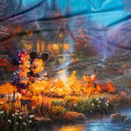 Mickey and Minnie Sweetheart Campfire by The Yard Fabric