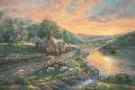 Daybreak at Emerald Valley – Limited Edition Canvas