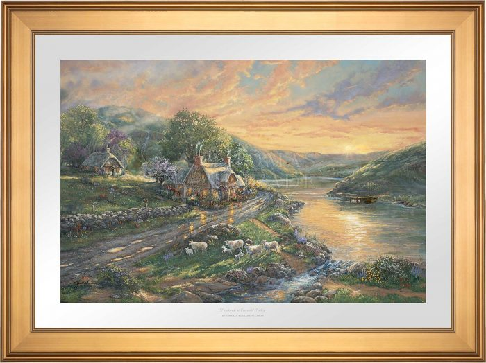 Daybreak at Emerald Valley – Limited Edition Paper