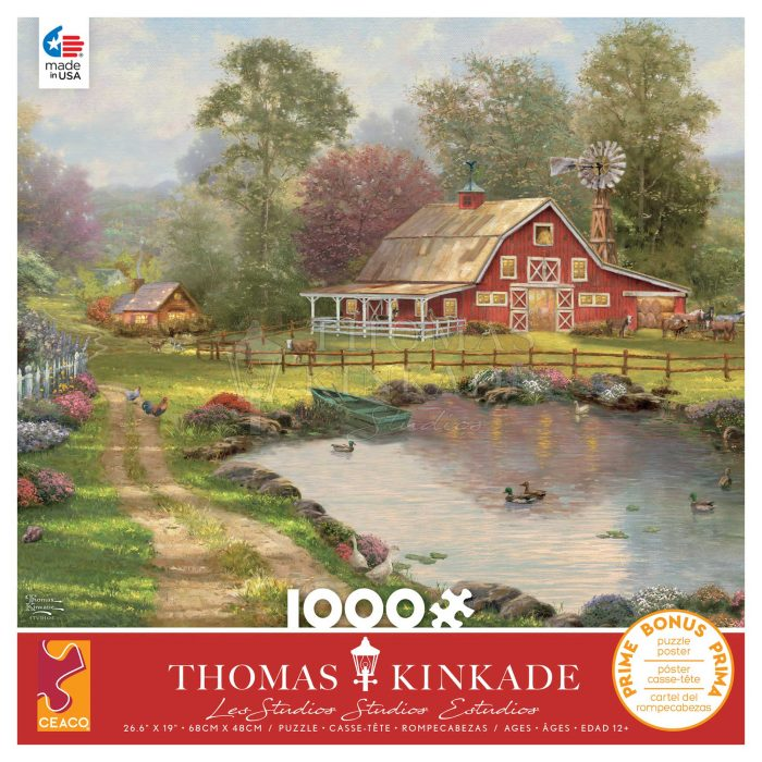 Red Barn Retreat – 1000 Piece Puzzle