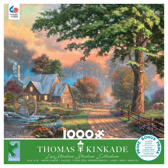 Simpler Times II – 1000 Piece Puzzle