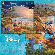 Donald and Daisy 750 Piece Puzzle