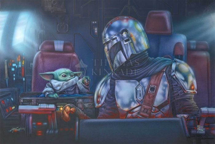 The Mandalorian – Two For The Road – Limited Edition Canvas