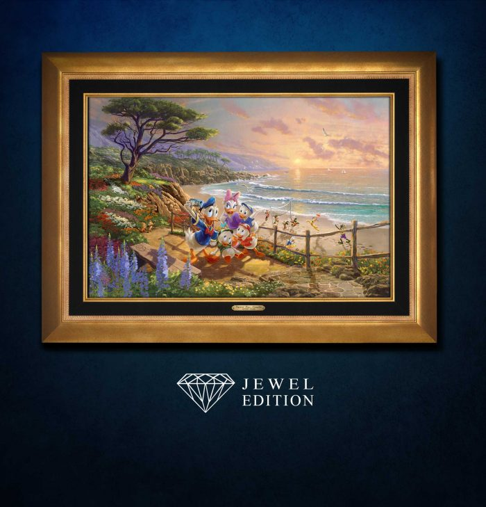 Donald and Daisy – A Duck Day Afternoon – Jewel Edition Art