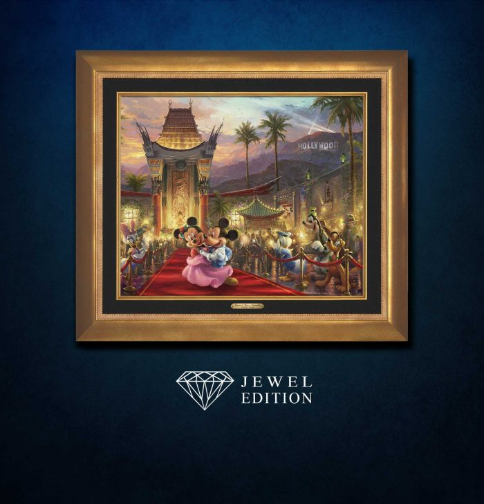 Mickey and Minnie in Hollywood – Jewel Edition Art