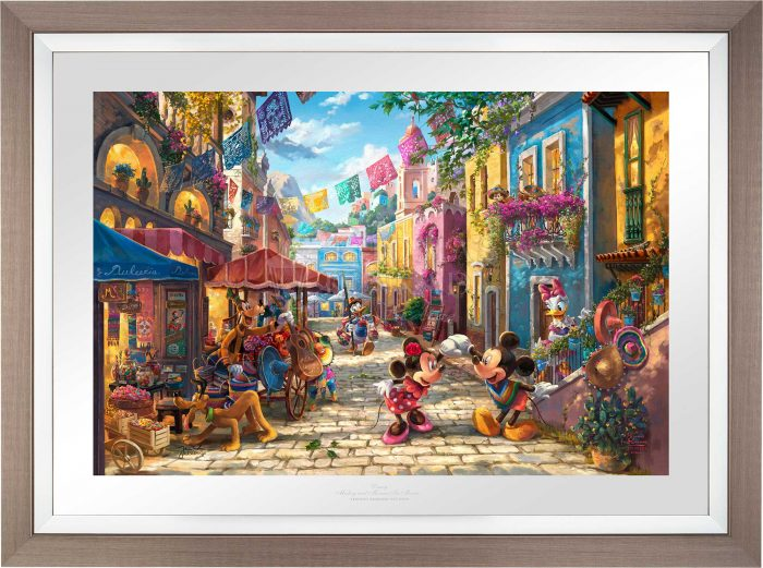 Disney Mickey and Minnie in Mexico – Limited Edition Paper
