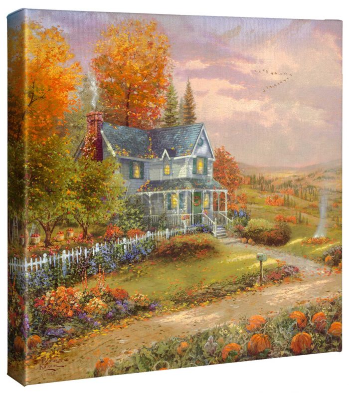 Autumn at Apple Hill – 14″ x 14″ Gallery Wrapped Canvas