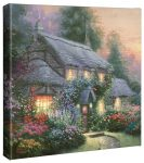 Julieanne's Cottage – 14″ x 14″ Gallery Wrapped Canvas