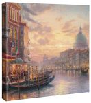 Venetian Cafe – 14″ x 14″ Gallery Wrapped Canvas