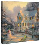 Night Before Christmas – 14″ x 14″ Gallery Wrapped Canvas