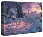 Disney – 101 Dalmatians on the Run – 8″ x 10″ Gallery Wrapped Canvas