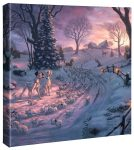Disney – 101 Dalmatians on the Run – 14″ x 14″ Gallery Wrapped Canvas