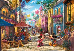 Disney Mickey and Minnie in Mexico