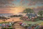 Seaside Cottage – Limited Edition Canvas