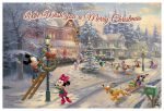 Mickey's Victorian Christmas – 12″ x 18″ Wood Signs