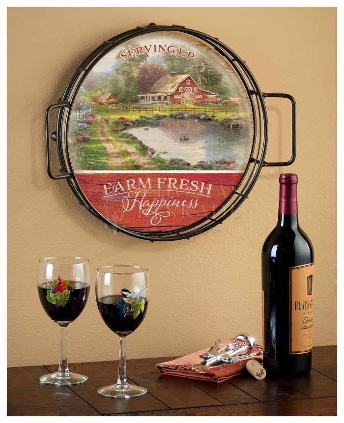 Red Barn Retreat – 12.5″ Serving Trays