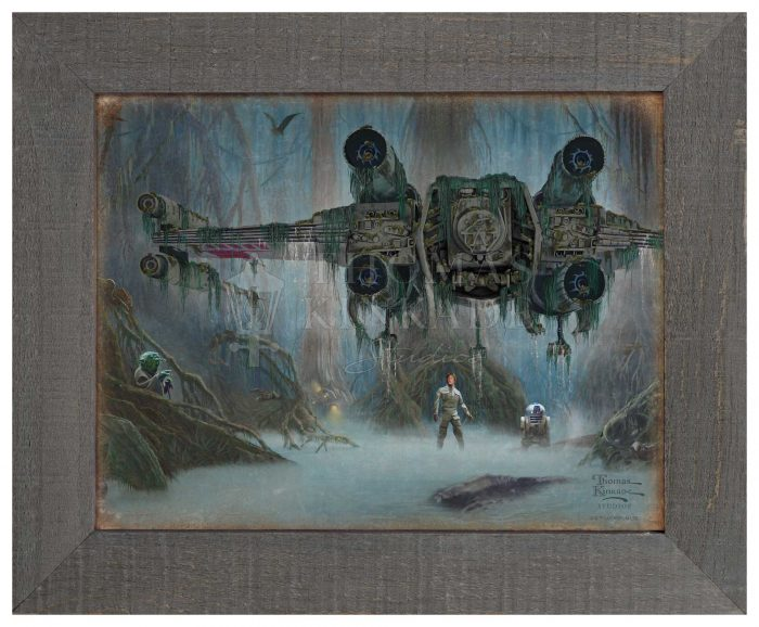 Do. Or do not. There is no try. – 12.5″ x 16″ Framed Metal Print