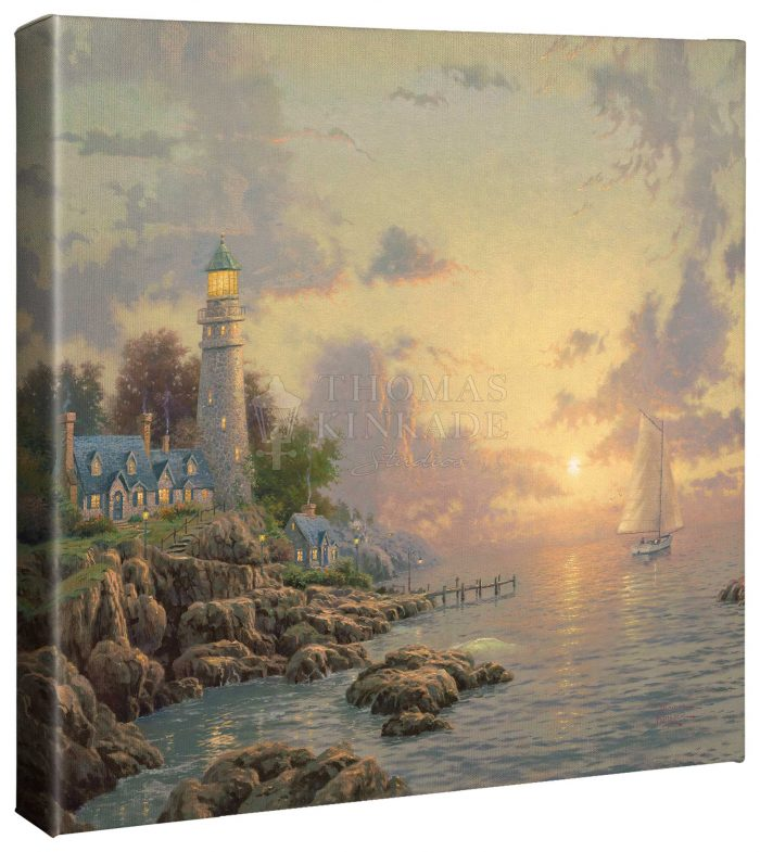 Sea of Tranquility – 14″ x 14″ Gallery Wrapped Canvas