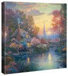 Nanette's Cottage – 14″ x 14″ Gallery Wrapped Canvas