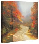 Autumn Lane – 14″ x 14″ Gallery Wrapped Canvas