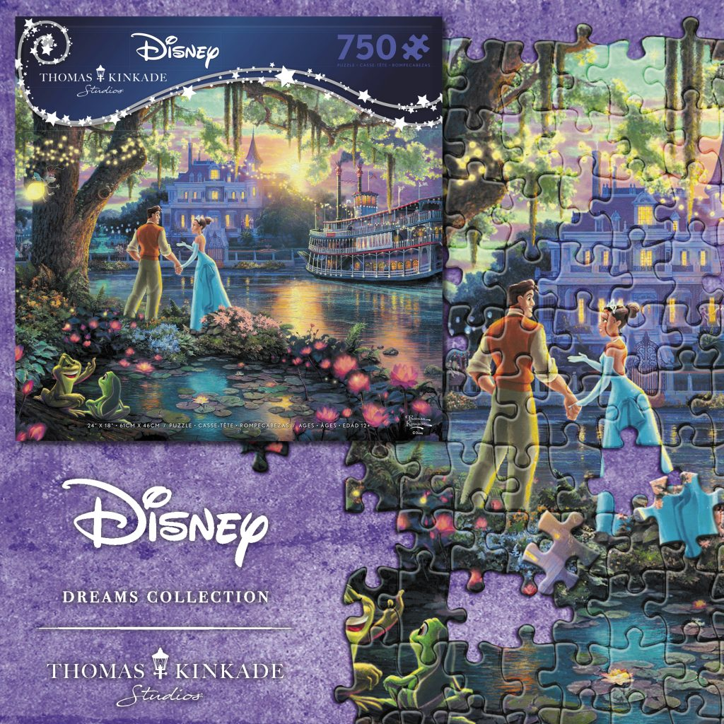 750 Piece Princess and Frog Puzzle