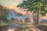 *RARE* Simpler Times II – Limited Edition Canvas, 28″ x 42″, EE, #1