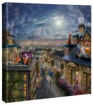 Disney The Aristocats – Love Under the Moon – 14″ x 14″ Canvas Gallery Wrap