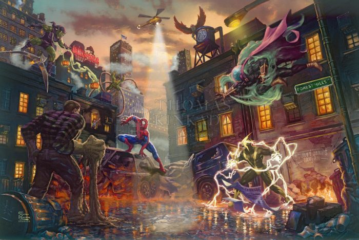 *RARE* Spider-Man vs. the Sinister Six – Limited Edition Canvas, 24″ x 36″, EE, #2