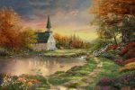 Chapel of Reflection – Limited Edition Canvas