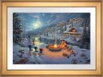 Disney – Mickey and Minnie Christmas Lodge – Limited Edition Paper
